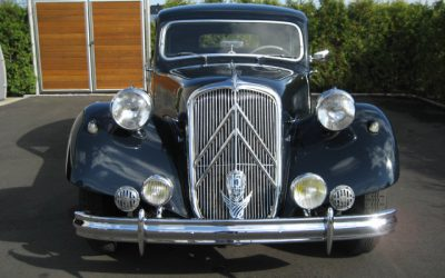 A newcomer, a Traction Avant!