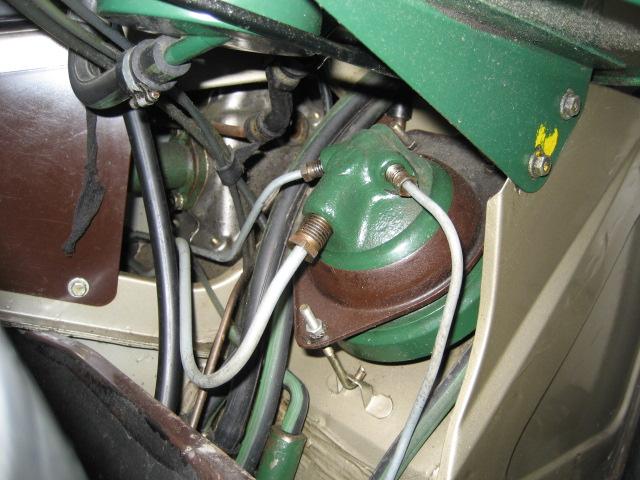 SM IE: Remplacement de l'accumulateur de frein